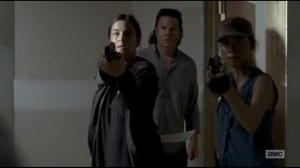 Start to Finish- Rosita, Tara, and Eugene find Denise and the Wolf in the cell
