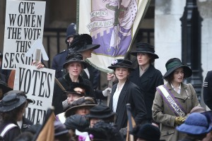 Suffragette- Give women the right to vote