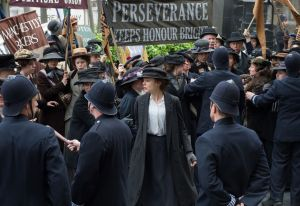 Suffragette- Police break up protest