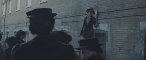 Suffragette- Woman speaks in favor of women gaining the right to vote