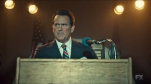 The Gift of the Magi- Ronald Reagan, played by Bruce Campbell, speaks of a rendezvous with destiny