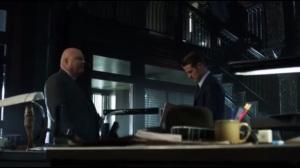 The Son of Gotham- Barnes tells Jim to lay off of Galavan