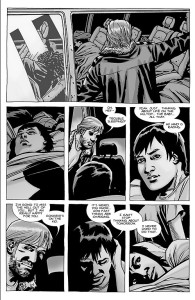The Walking Dead #100- Calm before the storm