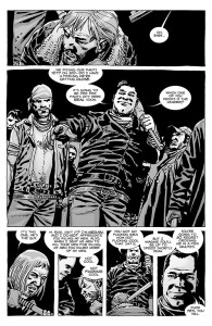 The Walking Dead #100- First appearance of Negan