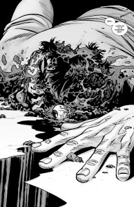 The Walking Dead #100- Glenn is dead
