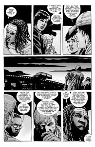 The Walking Dead #100- Group decides to stop at night