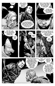The Walking Dead #100- Negan can't decide who to kill