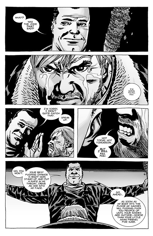 "A Look Back at The Walking Dead #100: ""Something to Fear,"" Part 4 