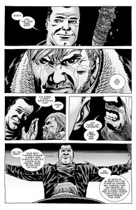 The Walking Dead #100- Negan knows that Rick won't kill him