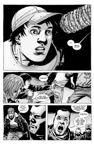 The Walking Dead #100- Negan picks Glenn to die