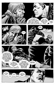 The Walking Dead #100- Negan taunts Rick