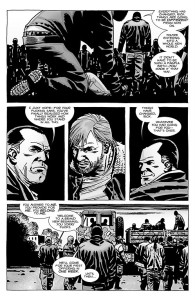 The Walking Dead #100- Rick is told that he answers to Negan and the Saviors now
