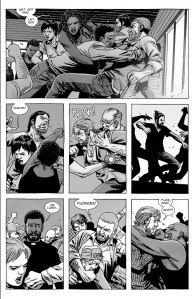 The Walking Dead #148- Anger explodes