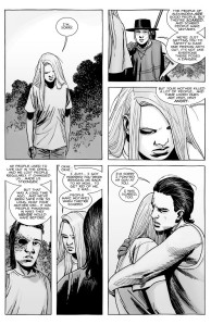 The Walking Dead #148- Carl, Andrea, and Lydia conflict resolved