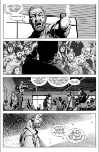 The Walking Dead #148- Rick takes charge