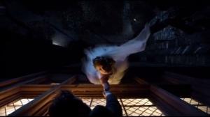 Tonight's the Night- Barbara hangs onto Jim