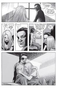 The Walking Dead #149- Carl tells Lydia that he's who he is because of his father