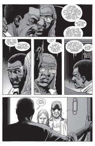 The Walking Dead #149- Joshn's parents met by Tammy's family