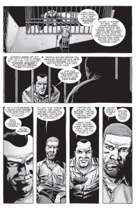 The Walking Dead #149- Negan tells Rick that people want security, not action