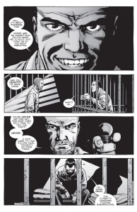 The Walking Dead #149- Negan thinks that he's getting out