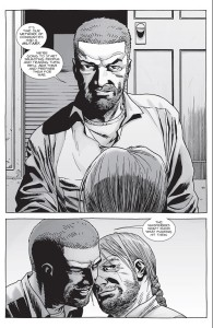 The Walking Dead #149- Rick tells Eugene that it's time to form a military
