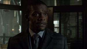 Worse Than a Crime- Lucius Fox just because