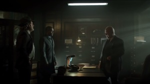 Worse Than a Crime- Lucius tells Barnes about Alfred and Bruce Wayne's disappearance