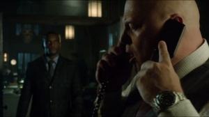 Worse Than a Crime- Lucius tells Barnes about Jim Gordon's location