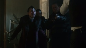 Worse Than a Crime- Penguin tries to convince Jim to kill Galavan