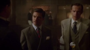 Better Angels- Jarvis and Howard visit The Arena Club and speak with the host, Torrance, played by John Balma