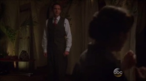Better Angels- Peggy works out her anger while Jarvis bids her good night