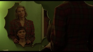 Carol- Carol and Therese at a mirror
