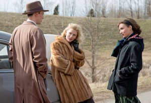 Carol- Carol and Therese speak with Tommy Tucker, played by Cory Michael Smith