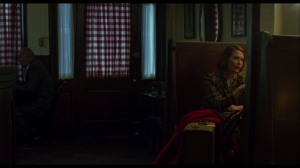 Carol- Carol talks with Abby, played by Sarah Paulson