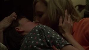 Carol- Therese and Carol kiss