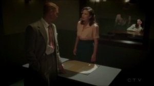 The Lady in the Lake- Jack tells Peggy that she's headed to Los Angeles