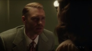 The Lady in the Lake- Jack tells Peggy that the SSR can function without her