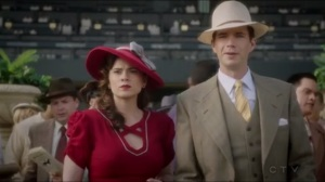 The Lady in the Lake- Peggy and Jarvis at the race track