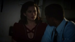 The Lady in the Lake- Peggy apologizes to Jason for putting his life in danger