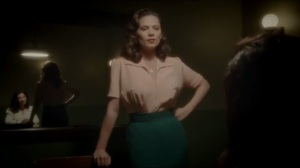The Lady in the Lake- Peggy in interrogation with Dottie
