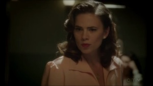 The Lady in the Lake- Peggy reacts upon hearing that Sousa asked for her