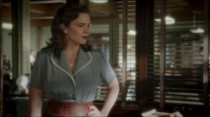 The Lady in the Lake- Peggy realizes that Sousa trusts her to get the job done