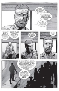 The Walking Dead #150- Rick addresses the communities and calls to form an army