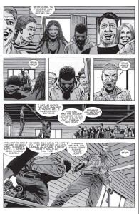The Walking Dead #150- Rick has Josh's father brought on stage