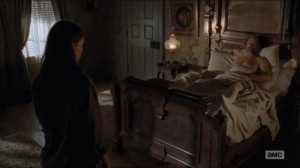 Knots Untie- Maggie negotiates with an injured Gregory