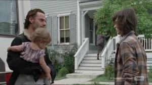 Knots Untie- Rick speaks with Carl before leaving