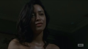 Knots Untie- Rosita gives Abraham a gift