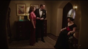 Life of the Party- Jarvis and Peggy go over the plan with Dottie