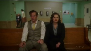 Monsters- Peggy and Jarvis at the hospital