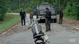 No Way Out- Abraham, Sasha, and Daryl face off with a Savior